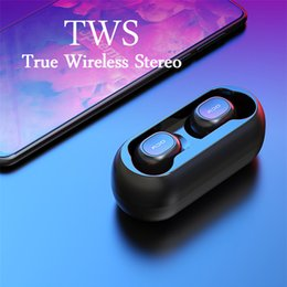 QCY T1C Мини Bluetooth 5.0 Наушники с микрофоном Беспроводные спортивные наушники Гарнитура с шумоподавлением и зарядная коробка от