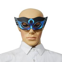 2019 fremdes kleid Neue Halloween Party Maske LED Licht Sound Control Glühende Party Dress Up Party Patch Cosplay Maske Cool Alien Kostüm Zubehör FE-EQ-01 günstig fremdes kleid