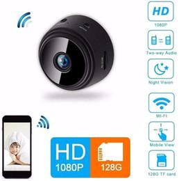 cámaras de control de sonido Rebajas Modelos A9 movimiento de cámara DV cámara caliente de Wi-Fi inteligente de red inalámbrica de la cámara remota de seguridad de vigilancia IP
