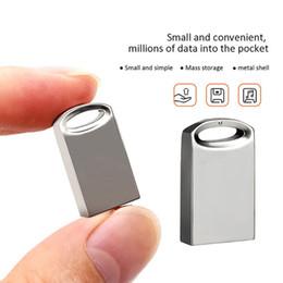 2019 4gb kamera blitz guter Rutsch in neuen 16.8 / 32/64/128 GB Metall Mini U Disk Data Storage Flash-Speicher USB-3.0-Antriebs-Feder-Hochgeschwindigkeits