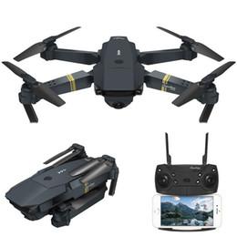 Câmera wifi alta on-line-Mini Eachine E58 WIFI zangão global FPV com grande angular câmera HD diodo emissor de luz de alta Hold Mode dobrável braço RC Quadcopter profissional zangão