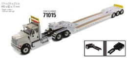 Alaşım Modeli Hediye DM 1:50 Ölçekli HX520 ile XL 120 3 * 2 Eksenli Kamyon Traktör Düşük Plaka Serisi Römork Diecast Oyuncak Model koleksiyon cheap toy trailers nereden oyuncak römorkları tedarikçiler