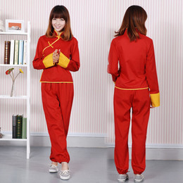 Uniformes du japon rouge en Ligne-Halloween 2019 Japon Anime Kagura cosplay costume Gintama pantalon rouge Chemise uniforme Set (taille asiatique)