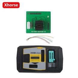 Compatibilidad con el programador original Xhorse V4.8.0 VVDI PROG Compatibilidad con el programador VVDI PROG V4.8.0 en varios idiomas (puede elegir el adaptador PCF79XX) desde fabricantes