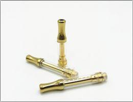 Чистые серебряные ручки онлайн-510 резьба испаритель керамическая ручка катушки золото серебро испаритель ручка стеклянные картриджи нет утечки вкус чистый