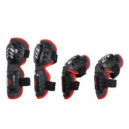 Motocicleta armadura cotovelo joelho almofadas on-line-4 Pçs / set New Arrival Adulto Cotovelo Joelho Armor Guard Pads para Patinação de Ciclismo Da Motocicleta Esportes Safty Protector