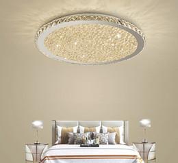 Canada Lustres en cristal modernes Lumières Home Lighting ledlamp Salon Chambre plafonnier Lustre rond à LED lampadari fixtures Offre