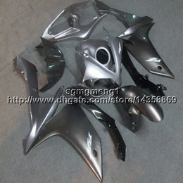 2020 carenados personalizados r1 Custom + Screws Injection capucha de motocicleta silvergray para Yamaha YZF-R1 2007-2008 07 08 YZFR1 ABS carenados carenados personalizados r1 baratos