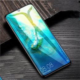 écran tempéré miroir Promotion Nouveau miroir de protection d'écran en verre trempé transparent pour Huawei mate 20X Nova5 / Nova5 pro Film anti-rayures 9H avec emballage