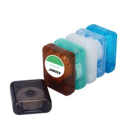 1 pc 50 m Flosser Dental Toothpick Encerado Fio Dental Floss Cord Mint sabor Dentes Floss Higiene Oral Dentes Mais Limpos de Fornecedores de ferramentas de cozinha plástica