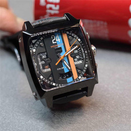 Uomini guardano grande piazza online-Popolare orologio meccanico quadrante nuovo di alta qualità a basso costo da uomo orologio sportivo orologio da uomo Big Bang hot men