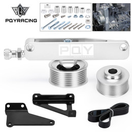 Kit motor honda on-line-PQY - A / C P / S Eliminator Excluir Polley Kit para Honda Acura K20 K24 Motores CPY03S-QY