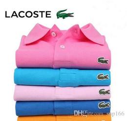 Calções de negócios para homens on-line-Nova Ashion Homens Camisa Polo de Negócios Estilo Britânico de Alta Qualidade de Manga Curta Respirável Homens Camisa Polo MTP093ts Homme camisa masculina