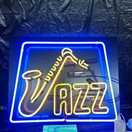 neon beer signs Promo Codes - Custom VAZZ Neon Beer Sign Design Acrylic Back Real Glass Tube Advertising Bar Home Decoration Art Display Neon Light 17'' 24'' 30''40''