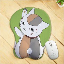 запястье силиконовой коврик для мыши Скидка Аниме игры периферийные продукты Творческий мультфильм коврик для мыши поддержка запястья индивидуальные 3d стерео силиконовые коврик для мыши настройки