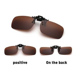 2019 clip sonnenbrille nacht fahren Mounchain Polarized Glasses Tag Nachtsicht Driving Sonnenbrille Aufsteck-Klapplinse günstig clip sonnenbrille nacht fahren