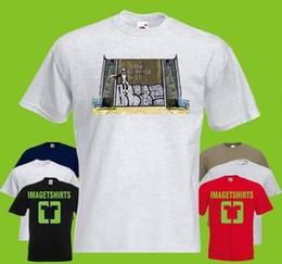 2019 tv рисунок Бэнкси Халл поднять Draw Bridge печатных футболку TV Movie фильмы текст смешно бесплатная доставка повседневная tee скидка tv рисунок