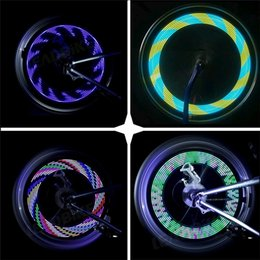 a4ad3ce69f3 bright bike lights wheels 2019 - Bike Accessories Bicycle Light Colorful  14LED Bike light Cycling Bycicle