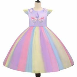2019 Fille Robes Princesse Dentelle Matchwork Screen Euro-American Robes Pour Enfants Robes De Princesse De Noël Robe bulle jupe Tutu ? partir de fabricateur