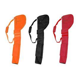 club di golf portatili Sconti Materiale Golf Club sacchetto di nylon di protezione ambientale Set sacchetto molle pieghevoli Golf Portable Accessori