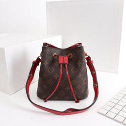 Mode Luxe designer marque Seau sac NEONOE 44022 sacs à bandoulière femmes designer sacs à main haute qualité fleur impression bandoulière sac ? partir de fabricateur