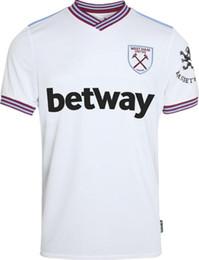 Envío gratis la mejor calidad.19 20 West soccer jersey United 2019 2020 Ham home away jerseys uniformes de camiseta de fútbol desde fabricantes