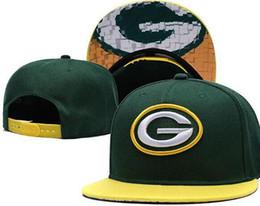 Дешевые зеленые шапки онлайн-2019 высокое качество мужская Green Bay hat Design Snapback GB Hat вышитые логотип бренда дешевые спортивные бейсбольные болельщики мода регулируемая крышка 01