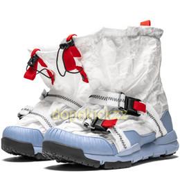 botas de corcho Rebajas Nuevo Sachs Mars Yard Overshoe Botas para hombre Moda Diseñador de mujeres Calcetín Dark Breathe Athletic Mesh Cork Sockliner Trainer Zapatillas de deporte Zapatillas de correr
