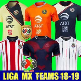 440a3928b08 Thailand 2018 2019 CHIVAS club world cup LIGA MX Club America CHIVAS  Guadalajara UNAM TIGRES Mexico soccer Jersey 18 19 football inexpensive  mexico soccer ...