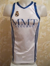 16175c97676 Cheap custom Real Madrid Home Basketball jersey stitched Customize any  number name MEN WOMEN YOUTH XS-5XL women s basketball jerseys promotion