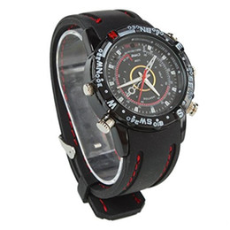 Wholesale 32GB GB GB водонепроницаемые часы DVR Super Video Camera наручные часы видеомагнитофон портативный видеокамера Mini Watch DV