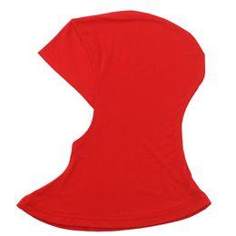 hijab ao ar livre Desconto Confortável Cor Sólida Ao Ar Livre Seco Rápido Cap Hijab Cap Underscarf Pescoço Cabeça Bonnet Hat