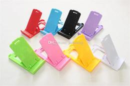 billige telefonhalterungen Rabatt Verkäufe billig Handyhalter Halter Handy-Zubehör Klappbarer Handyhalter mit doppelter offener Halterung