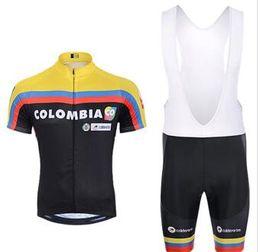 2019 колумбийский набор Pro команда Колумбия задействуя Джерси набор униформа МТБ велосипед одежда велосипедов одежда Ропа ciclismo Майо леггинсы-брюки мужские короткие дешево колумбийский набор
