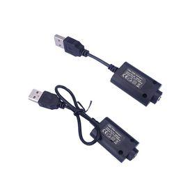 Canada eGO USB Cable Charger Chargeur USB de cigarette électronique pour eGo eGo-T EGO-C EGO-W e-cigarette ego510 batterie fil noir et blanc Offre
