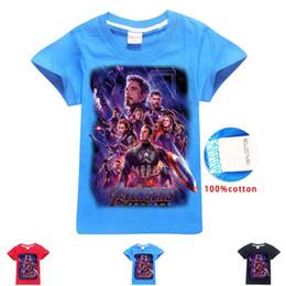 camicie di ferro Sconti Nuovo design T-Shirt Uomo Donna Marvel Novie Avengers 3D T-shirt stampate Tshirt manica corta Streetwear Tops Captain Marvel Thanos Iron Man C51