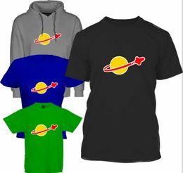 LEGO SPACE - T Shirt e Felpa con cappuccio Retro, Giocattoli, Film, Mattoni, Razzi, Divertimento, Cool Divertente Spedizione gratuita Tshirt Unisex Casual da
