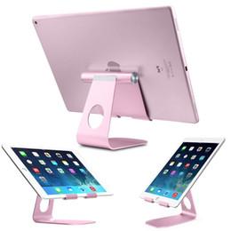 2019 iphone innere klammern gesetzt Tischplattenhandy-Stand-Tablet-Stand, vorgerückter Aluminiumstand-Halter für Handy und Tablet