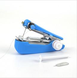 Портативный Мини Ручной Швейные Машины Простые Операции Швейные Инструменты Швейные Ткань Удобный Рукоделие Инструмент LYQ от Поставщики жаккардовые носки