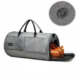 b0f8eed035e1 Independent Shoe Position Sports Bag Men Gym Bag Waterproof Nylon Outdoor  Travel Women Gym Sport Yoga Training Handbag  29512 discount men leather  travel ...