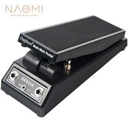 boîtier en aluminium bricolage Promotion NAOMI Daphon DF2210 Guitare Wah Wah Pédale Pour Joueurs de Guitare Électrique DJ