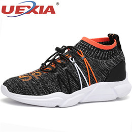954be0c6bea UEXIA Famous Brand New Casual Shoes Men Lace Up Tenis Sneakers Men Low Top  Flats Mesh Mans Footwear Breathable Casual Male Shoe