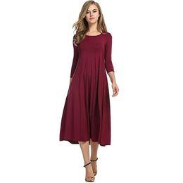 2ddceca8b4d06 Autumn Slim Bottom Maternity Dress For Pregnant Women Clothes Lady Dress  Pregnancy Vestidos Gravidas Dress Maternity Clothing Y190522