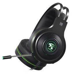 2019 V5000 Ecouteurs PS4 Gaming Headset Ordinateur Jeu Desktop Internet Cafe Jedi Survival Ecouteur 7.1 Son Channel USB 3.5mm ? partir de fabricateur