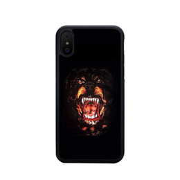 una parte posteriore della tasca Sconti Cassa del telefono di lusso per IPhone X / XS XR XSMAX 6 / 6S 6plus / 6S Plus 7/8 7plus / 8plus Designer Custodia IPhone con lettere di marca Animali 7 stili