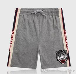 Доска тигра онлайн-19S tiger Board Shorts мужские летние пляжные шорты брюки высокого качества купальники Бермуды мужской письмо Surf Life мужчины чистый хлопок шорты пляжные брюки