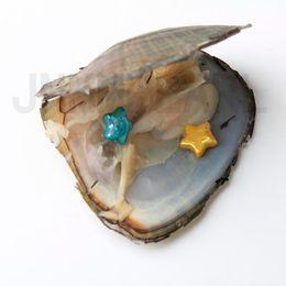 JNMM 40 Unids Ostras con Perlas de Perlas Edison de Una Sola Estrella 10-13 mm colores mezclados Perlas de Agua Dulce para regalo de fiesta desde fabricantes