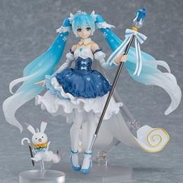 "Hatsune Miku Append Ver 6/""//15cm PVC Anime Action Figure Toy Gift Figma #100"
