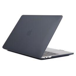 Copertura del corpo del computer portatile online-laptop duro gommato opaco Fronte Retro corpo completa copertura Shell di caso A1369 A1466 A1708 A1278 A1465 per MacBook Air 11 12 13 pollici