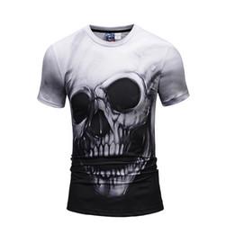 4659aff2 2019 Hip Hop Skull T Shirt Tops Tees Anime 3d Skull Top Summer Style  Skeleton New Clothing Rock
